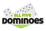 Game All Fives Dominoes
